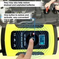 12V 5A Auto KFZ Car Ladegerät Jump Starter Booster Bank Starthilfe Power O5S1