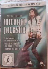 The Definitive(2xdvd+CD+Ebook) Michael Jackson     Brand new and sealed
