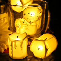 24X Battery Operated Electric LED Candles Tea Lights Flameless Wedding Party