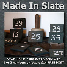 Slate Numbers Decorative Outdoor Signs/Plaques