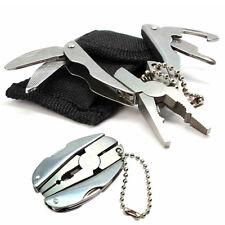 Mini Foldaway Keychain Pocket Multi-Function Tools with Pliers Knife Screwdriver