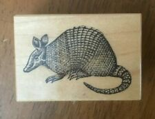 Psx Armadillo C-719 Mammal Animal Critter Rodent Rubber Stamp