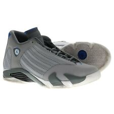 finest selection f5dda c3527 Nike Air Jordan Rétro 14 Loup Gris Sport Bleu 487471-004 Homme Size 11  Basket