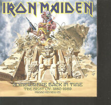 "IRON MAIDEN ""Somewhere Back in Time-The Best..."" PROMO Review Cardsleeve CD"