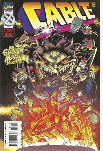 °CABLE #27 THE SUGAR MAN STRIKES! ° US Marvel 1996 Jeph Loeb