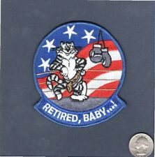 F-14 TOMCAT RETIRED BABY US Navy Fighter Squadron VF Mascot Shoulder Patch