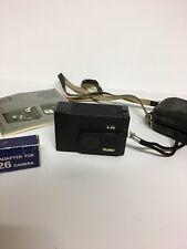 Rollei A26 Kompaktkamera mit Bedienungsanleitung und Tasche