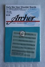 Archer 1/35 Early War Heer Shoulder Boards for Panzergrenadiers FG35049B