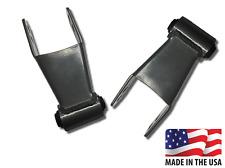 """Ford Ranger 1""""-2"""" Lift Kit Adjustable Leveling Raise Shackles Rubber Bushing"""