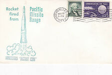 United States 1963 Minuteman Missile Launched 27th Nov Unadressed VGC D