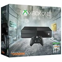 Xbox One 1TB Console Tom Clancy's The Division Bundle Video Game Systems Very