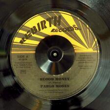 "NEW 7"" Pablo Moses - Blood Money   /  Version"