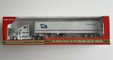 FIRST GEAR 1:64 Volvo VN 670 Tractor  w/ 53' Trailer U.S. Postal 60-0008 NIB