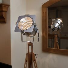 Retro Chic classic theatre/stage light + tripod, stylish floor lamp, short model