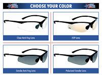Bolle Contour Safety Glasses & Sunglasses Work Eyewear Choose Lens Color