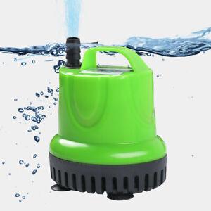 Submersible Water Pump Quiet Aquarium Fountain Fish Tank Pond Clean Dirty Filter