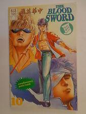 The Blood Sword MA Wing Shing M Baron T Wong #10 Jademan Comics May 1989 NM