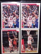 Michael Jordan/ Scottie Pippen 96 97 98 UD Collectors Choice 4 Card Special!