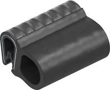 KD-Beschläge Dichtungsprofil Dichtprofil Kantenschutz EPDM PVC schwarz KB 1-4mm