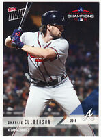 Charlie Culberson Atlanta Braves 2018 Topps PS-60 Post Season SP ONLY /792