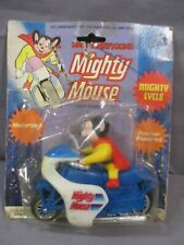Mighty Mouse MIGHTY CYCLE Toy Motorcycle 1979 Viacom Vintage Hong Kong