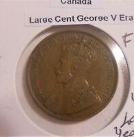 Canada Large Cent, Georgius V era (1910-1936), 1920 (FINAL ISSUE)