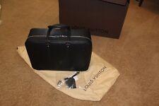 Louis Vuitton Black EPI Sirius soft side small