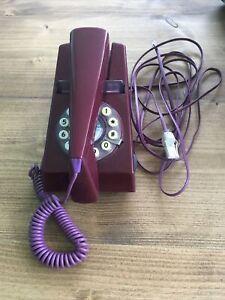Retro TRIMPHONE, Purple Plum, repro by Wild & Wolf WORKING, tone dialling
