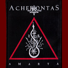 ACHERONTAS - AMARTA - Official High Quality Sew on PATCH Greek Black Metal NEW