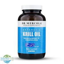Dr. Mercola Premium Supplements Antarctic Krill Oil 180 Capsules