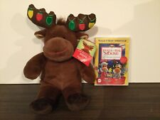 Holly and Hal Moose: Our Uplifting Christmas Adventure DVD and Plush Hal set