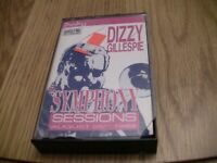 """Dizzy Gillespie """"The Symphony Sessions"""" Cassette"""