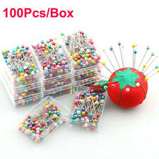 100x Head Florists Sewing Tools Straight Pin Dressmaking Pins Jewelry Decoration
