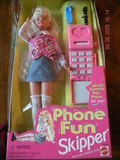 Barbie Skipper 1995 Phone Fun Skipper Doll NRFB Mattel 14312