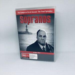 THE SOPRANOS Final Season 6B DVD REGION 4 Very Good Condition FREE SHIPPING