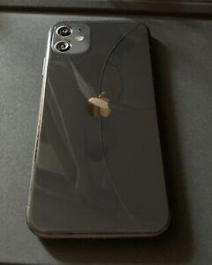 Apple iPhone 11 - 64GB - Black (Unlocked) A2111 (CDMA + GSM) Working Condition
