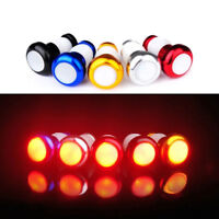 Helpful LED Red Light Lamp Bike Turn Signal Handle Bar End Plug Safety Cycling