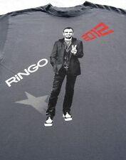 RINGO STARR all starr band 2012 tour MEDIUM concert T-SHIRT beatles
