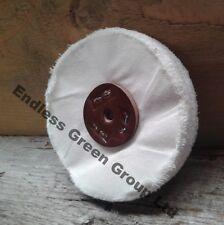 """Loose Leaf Soft Cotton Polishing Buffing Wheel -  6"""" x 1/2""""  150 x 13mm  L150/40"""