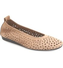 Arche 9324 Women's Leather Beige Sand Lilly Comfort Flats Size FR 42
