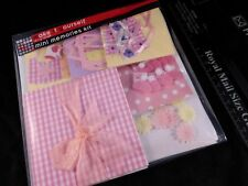Baby Girl Mini Memories Kit - Arts & Crafts Kit - Great Gift for Baby Showers !!