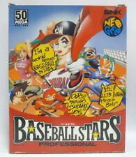 BASEBALL STARS PROFESSIONAL - SNK NEO GEO NEOGEO AES CARTON BOX JAPAN BOXED