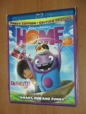 Home: Party Edition (3D Blu-ray, 2015) EX+ 3D Bluray Disc Only! w/Slipcover!
