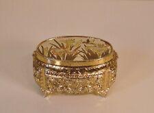Beautiful San Francisco Music Box Company Hummingbird Trinket Jewelry Box