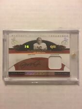 JOE MONTANA 2007 NATIONAL TREASURES PATCH RELIC AUTO #/25 49ERS ALL-DECADE