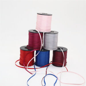 "100% polyester 1/8"" 3mm double sided satin ribbon 100yards/roll D003"