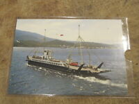 1981 Postcard - The Lochalsh car ferry, Kyle of Kyleakin - Skye
