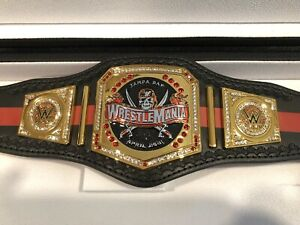 WWE Wrestlemania 37 Commemorative Mini Swarovski Championship IN STOCK