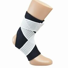 Ankle Strap  Semi Elastic Ankle Sprain Care - White