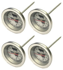 4x Fleischthermometer Garthermometer Ofenthermometer Grillthermometer Steak